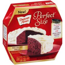 Duncan Hines Perfect Size Cake Mix Red Velvet Dream, 9.4 OZ