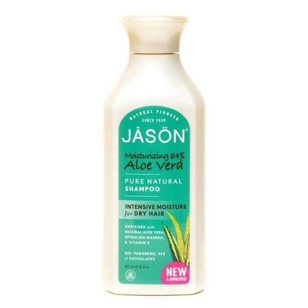 Jason Shampoo, Pure Natural, Intensive Moisture, for Dry Hair