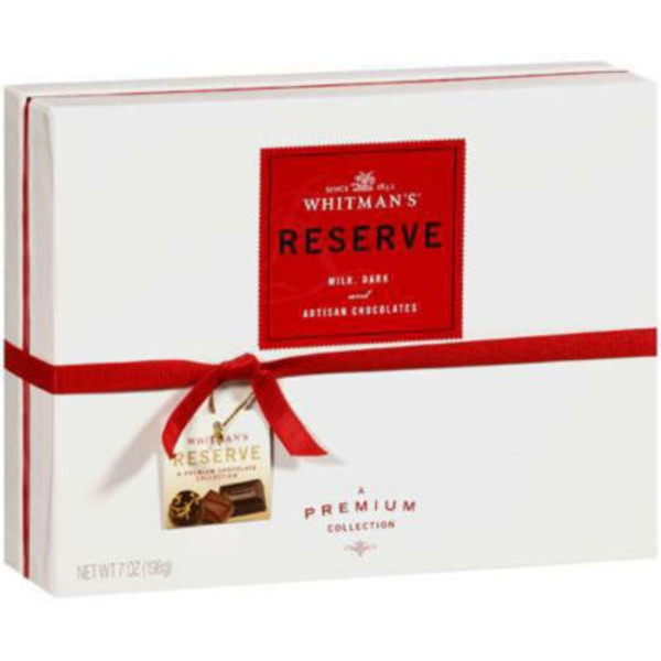 Whitman's Reserve Milk, Dark And Artisan Chocolates
