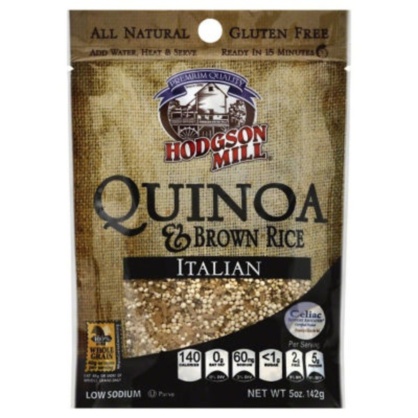 Hodgson Mill Quinoa & Brown Rice, Italian, Pouch