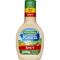 Hidden Valley Original Ranch Dressing, Spicy, 16 Ounces