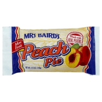 Mrs Bairds Single Serve Peach Pie