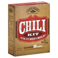 Carroll Shelby's Fix It Hot Or Mild Chili Kit