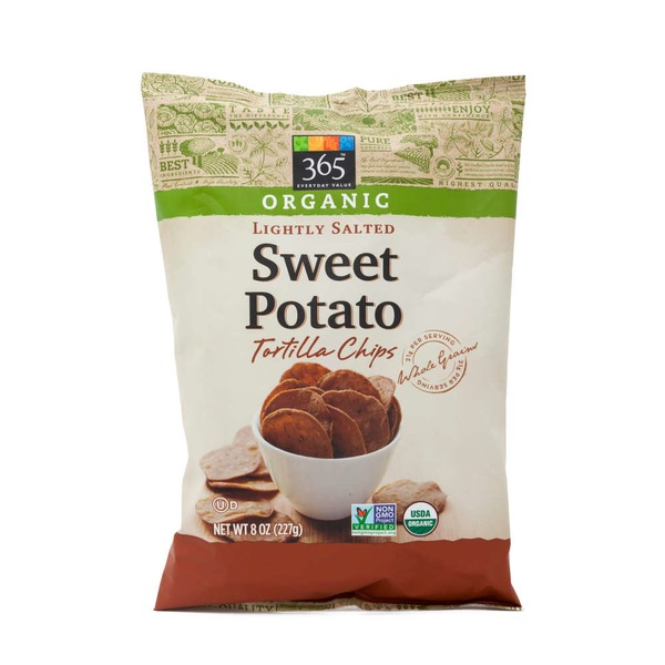 365 Organic Sweet Potato Tortilla Chips