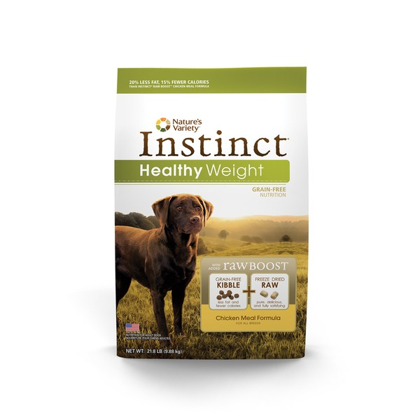 Nature's Variety Instinct Healthy Weight Grain Free Chicken Meal Dog Food