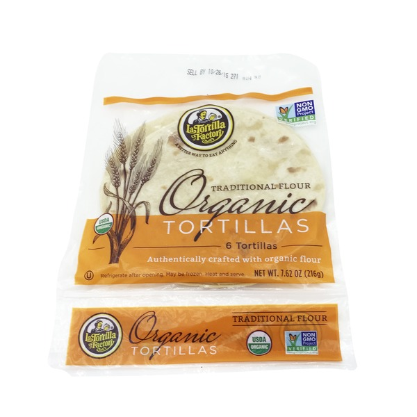 La Tortilla Factory Organic Traditional Flour Tortillas