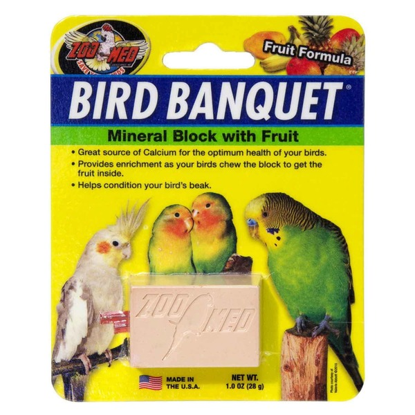 Zoo Med Fruit Bird Banquet Block Small