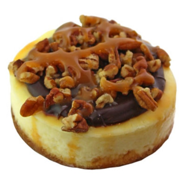 Central Market Mini Turtle Cheesecake