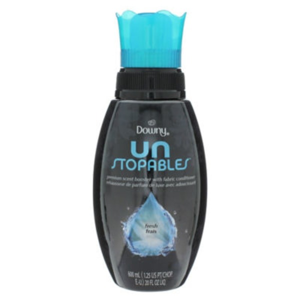 Downy Unstopables Downy Unstopables Fresh Premium Scent Booster With Softener Fabric Enhancer 20oz Fabric Enhancers
