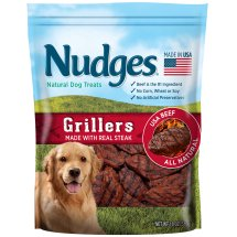 Nudges Steak Grillers Dog Treats, 18 oz