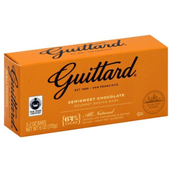 Guittard Semi-Sweet Chocolate Baking Bars