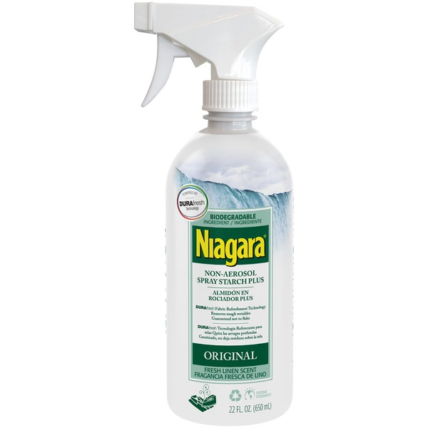 Niagara Non-Aerosol Original Fresh Linen Scent Plus Spray Starch