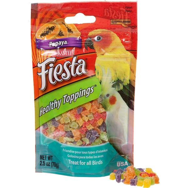 Kaytee Fiesta Papaya Healthy Toppings Bird Treat