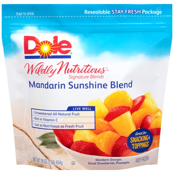 Dole Wildly Nutritious Signature Blends Sunshine Mandarin Blend