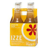Izze Sparkling Peach Juice Beverage