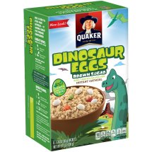 Quaker Instant Oatmeal, Dinosaur Eggs, 8 count, 1.76 oz Packets