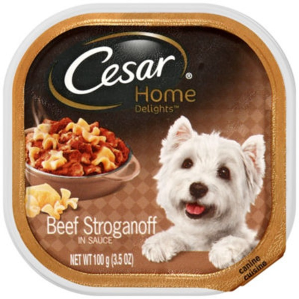 Cesar Home Delights Canine Cuisine Beef Stroganoff Wet Dog Food