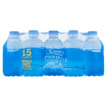 Sam's Choice Purified Drinking Water, 10 oz, 15 Count