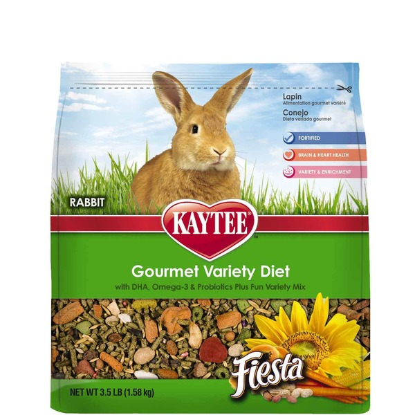 Kaytee Fiesta Max Food For Rabbits 3.5 Lbs.