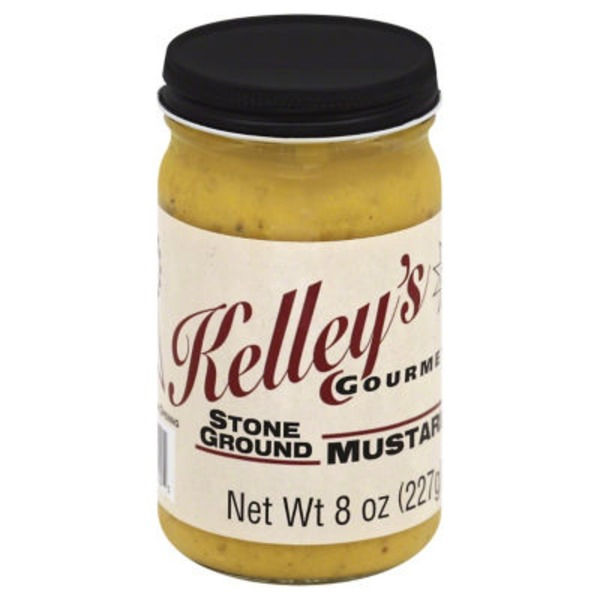 Kelley's Honey Stone Ground Mustard
