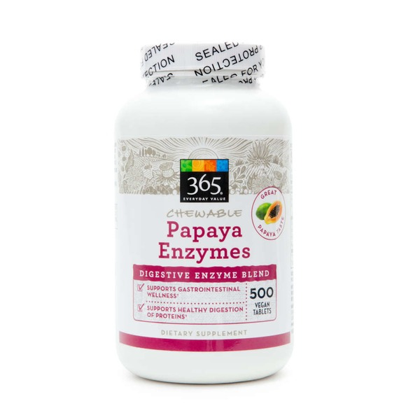 365 Chewable Papaya Enzymes