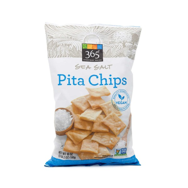 365 Sea Salt Pita Chips