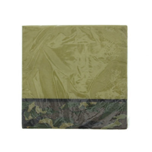 Unique Military Camo Beverage Napkins