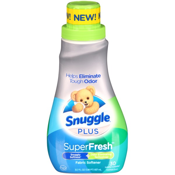Snuggle Plus SuperFresh EverFresh Scent Liquid Fabric Conditioner