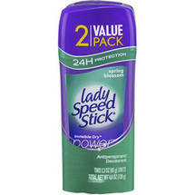 Lady Speed Stick Invisible Dry Power Spring Blossom Antiperspirant Deodorant