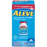 Aleve Naproxen Sodium 220 mg Caplets Pain Reliver/Fever Reducer