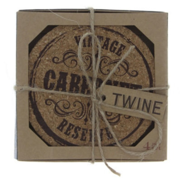 True Fabrications Grape Varietal Coasters