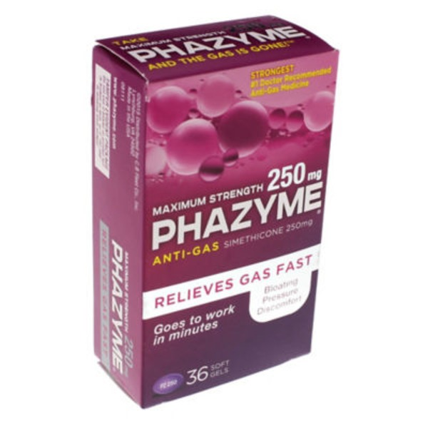 Phazyme Maximum Strength Anti Gas Medicine