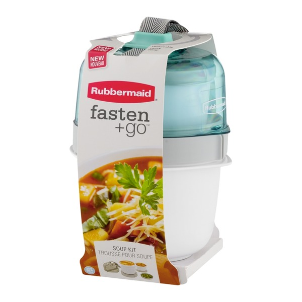 Rubbermaid Fasten + Go Soup Kit