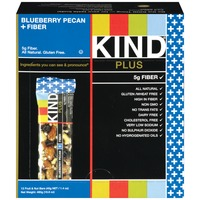 KIND Blueberry Pecan Plus Fiber 1.4 oz Fruit & Nut Bars