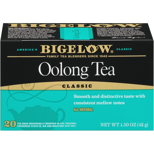 Bigelow Oolong 1.5 Oz Tea Bags