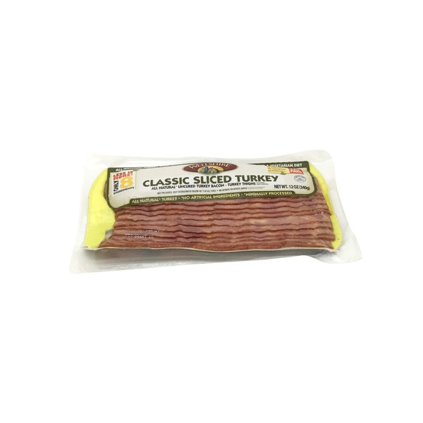 Wellshire Farms Classic Sliced Turkey Bacon