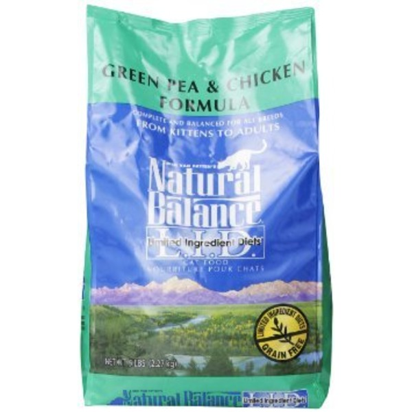 Dick Van Patten's Natural Balance Limited Ingredient Diets Green Pea & Chicken Formula Cat Food