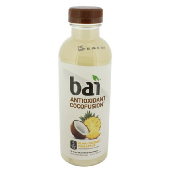 Bai Antioxidant Cocofusion Beverage Puna Coconut Pineapple