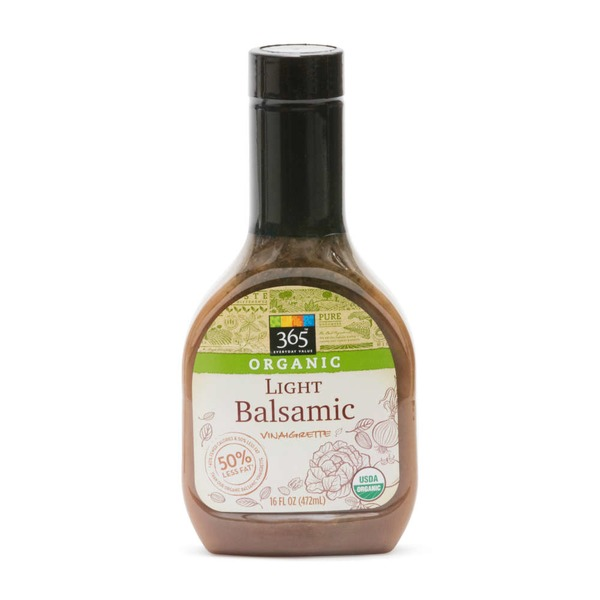 365 Organic Light Basalmic Vinaigrette