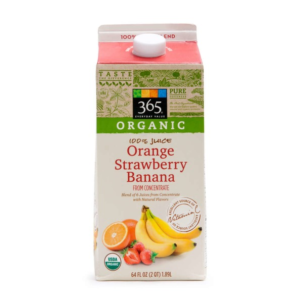 365 Orange Strawberry Banana Juice