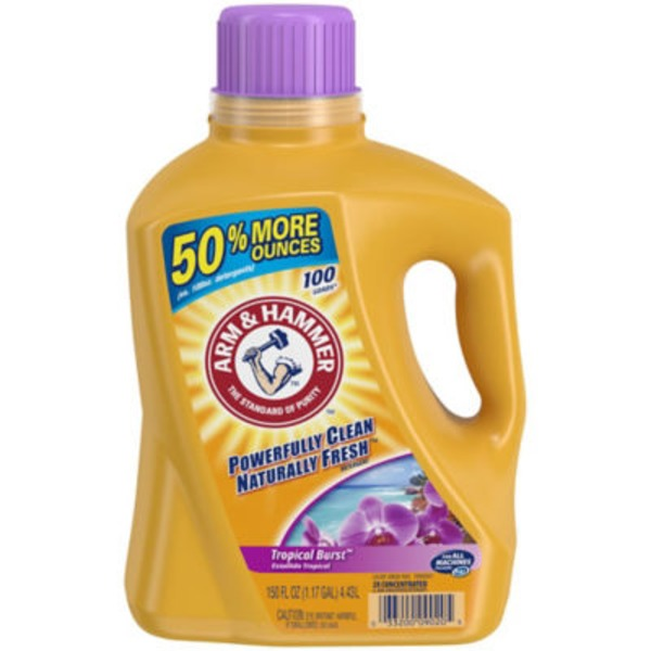 Arm & Hammer Clean Scentsations Tropical Paradise Laundry Detergent