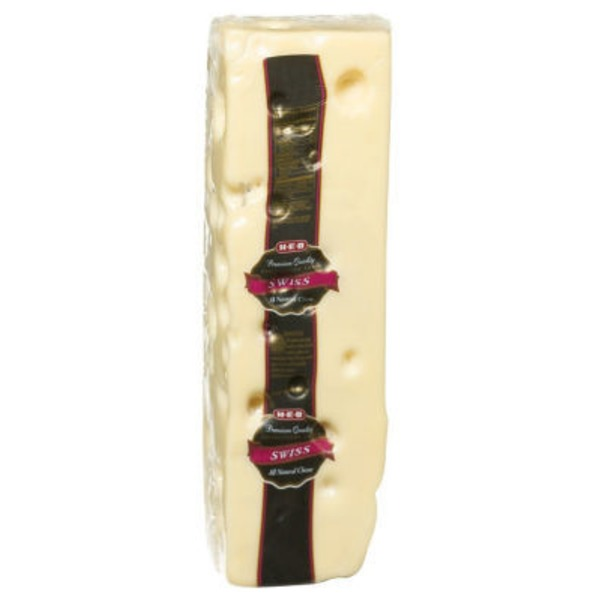 H-E-B Deli Lacey Swiss Cheese, Sold By The Pound