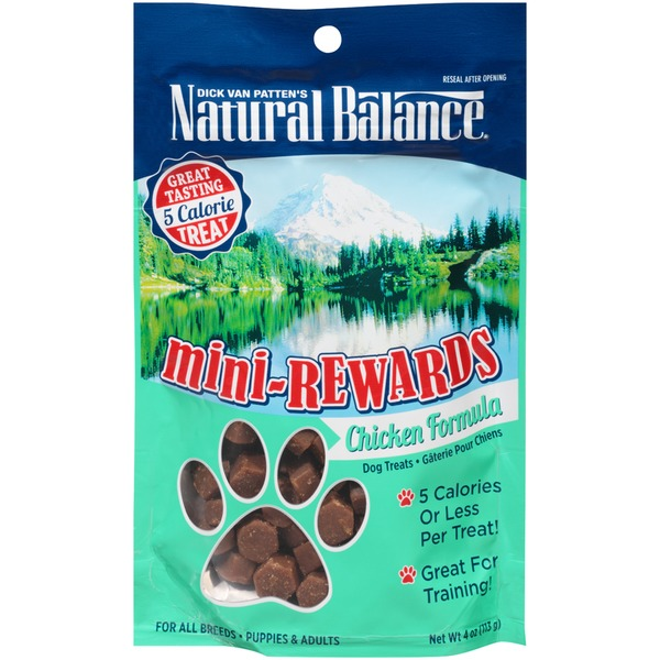 Natural Balance Chicken Formula Dog Treats