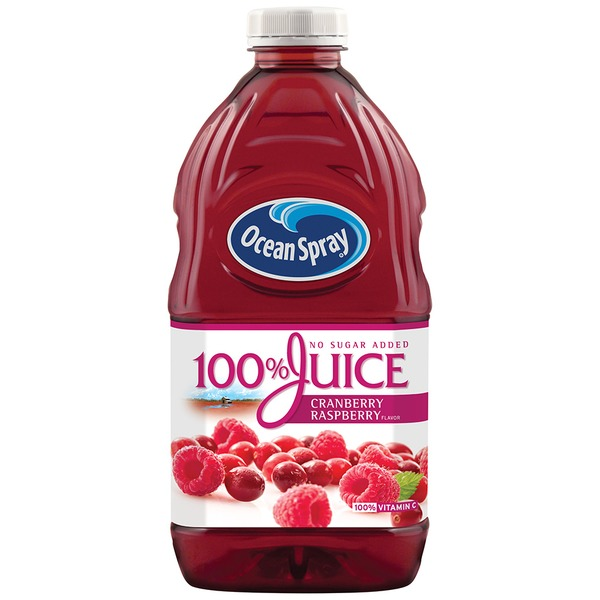 Ocean Spray Cranberry Rasberry Flavor 100% Juice