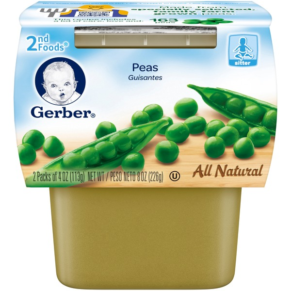 Gerber Peas 2nd Food