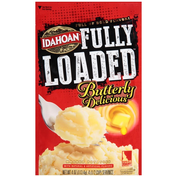 Idahoan Fully Loaded Butterly Delicious Mashed Potatoes