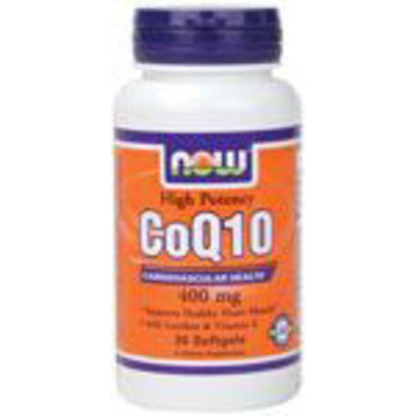 Now Co Q10 400 Mg Softgels