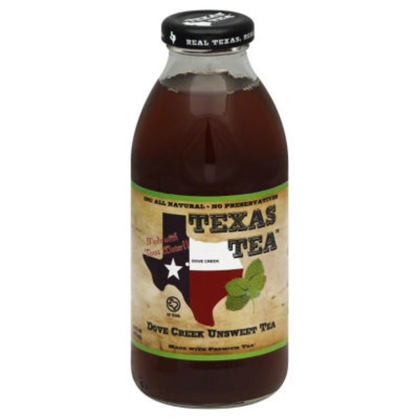 Texas Tea Dove Creek Unsweetened Tea
