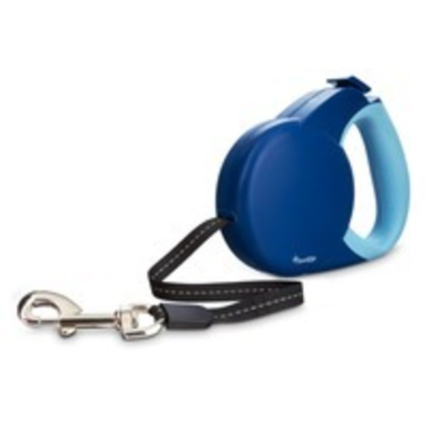 Good2 Go Small Blue Retractable Dog Leash
