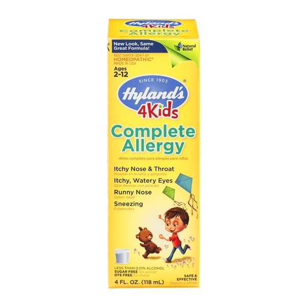 Hyland's 4 Kids Complete Allergy Ages 2 - 12